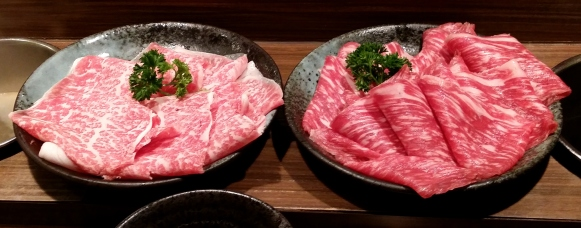 Wagyu A5 and A3
