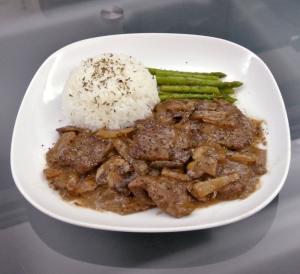 Beef Strogonoff