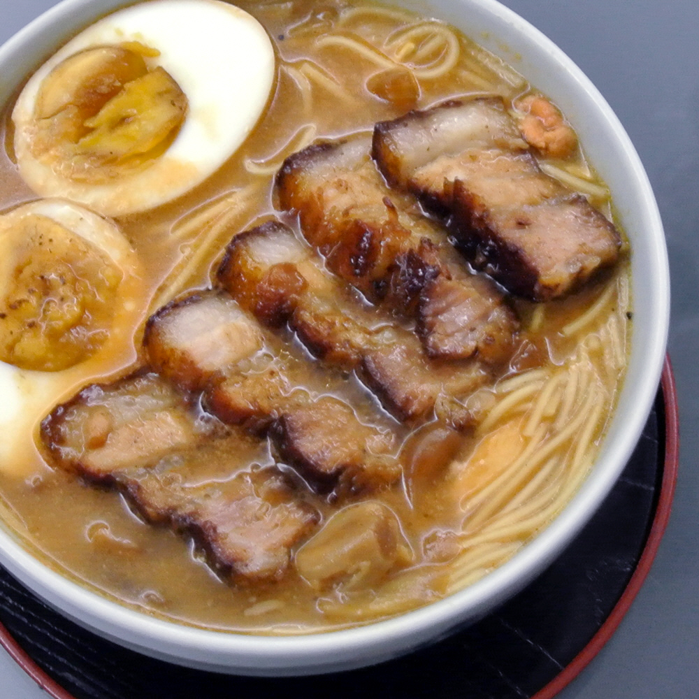 Japanese style pork ramen recipe