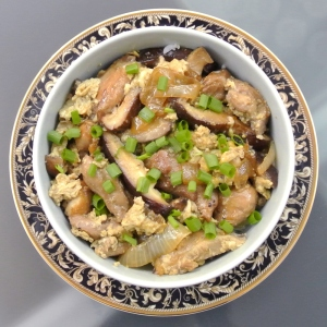 Oyakodon - Japanese Chicken and Egg Rice